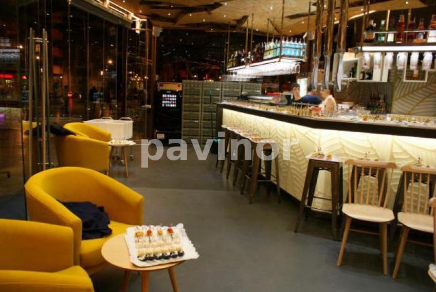 Cafeteria la glorieta 470 de cartagena pavinor - Microcemento galicia ...