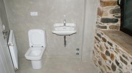 Baño en microcemento casa Carlos