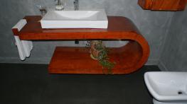baño en microcemento y pavinox